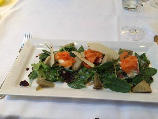 De Artisjok: Lovely fresh salad