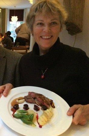 De Artisjok: I think my friend ordered the lamb-het was lekker!