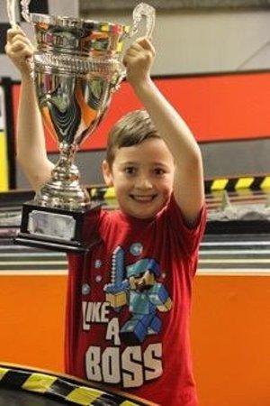 Stonerig Raceway : My birthday boy :)