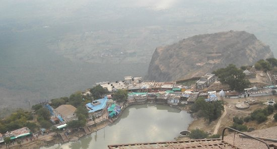 View of Temple from Dudhi talav - Picture of Pavagadh Hill