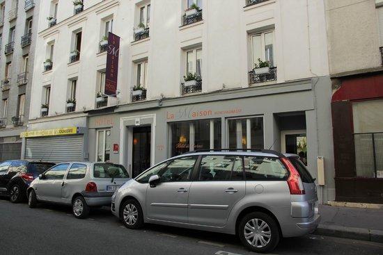 La Maison Montparnasse: Фасад