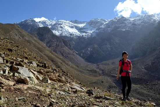 Desert Majesty: Stunning views hiking near Imlil