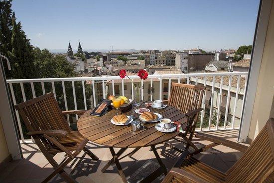 Hotel Carlos V: Terraza. Vistas