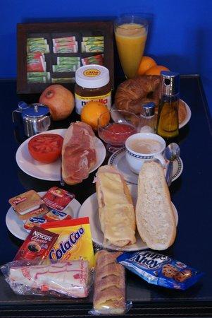 Hotel Carlos V: Desayuno