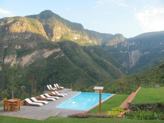 Cocachimba, Peru: View from the rooms
