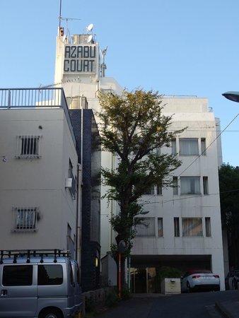 Residential Hotel Azabu Court: Fachada de Azabu Court