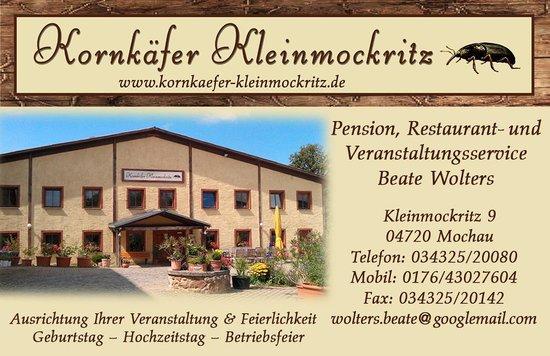 Kornkaefer Kleinmockritz