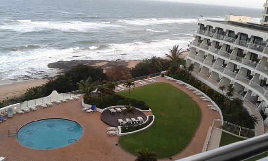 uMhlanga Sands Resort: view from my room