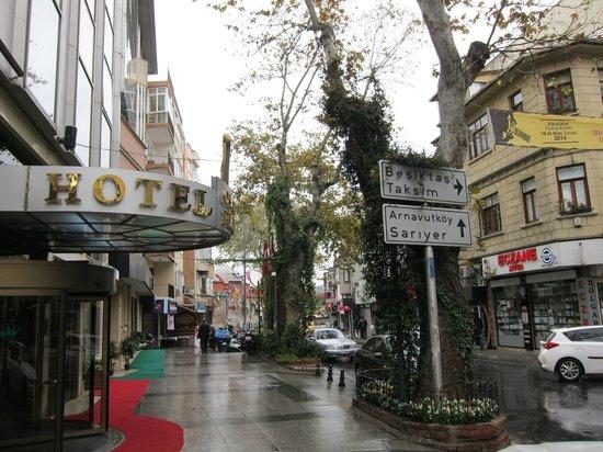 Ortakoy Princess Hotel: Esterno dell'Ortaköy Princess Hotel