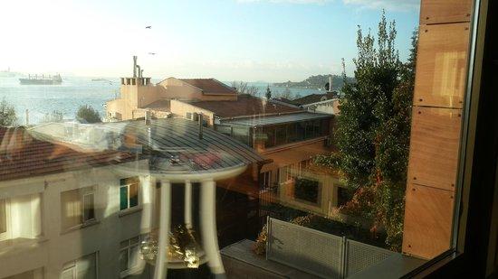 Deris Bosphorus Lodge: Вид из окна