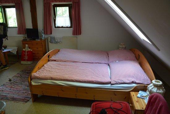 Haus Ballwein: camera mansardata al secondo piano