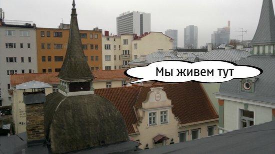 Taanilinna Hotell: Номер где мы жили