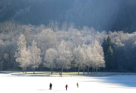 Ferien am Talhof: Eislaufen am Natureislaufplatz am Talhof