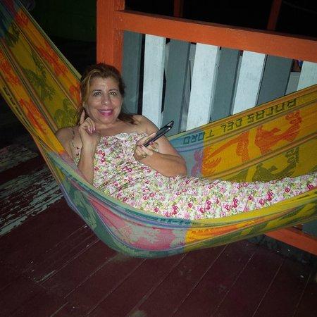 Hostal El Jaguar: hammocks