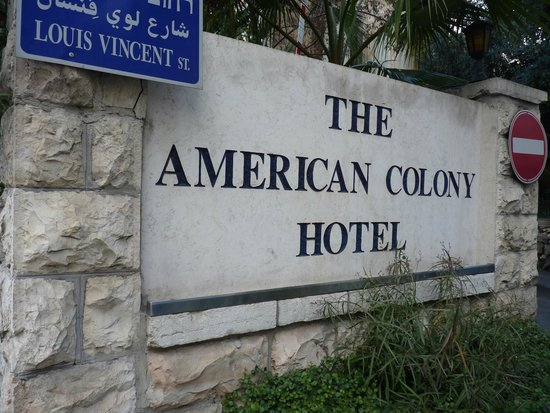 American Colony Hotel Arabesque Restaurant : American Colony