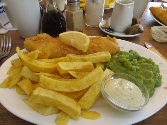 Crispy Cod : This was an amazing meal-deal offer.