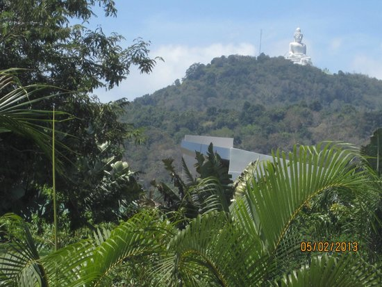 Tuna Resort: Big Buddha näkyy pihalta