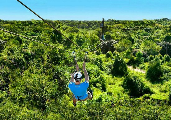 Zipline At Bavaro Adventure Park