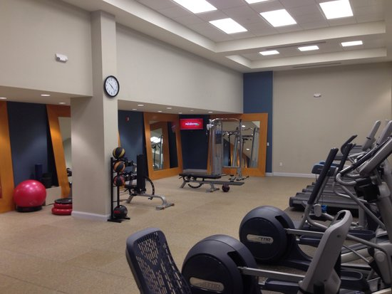 Hilton Naples: Gym facility
