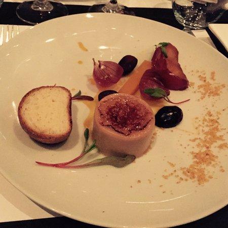 Apollo : Foie gras crème brûlée