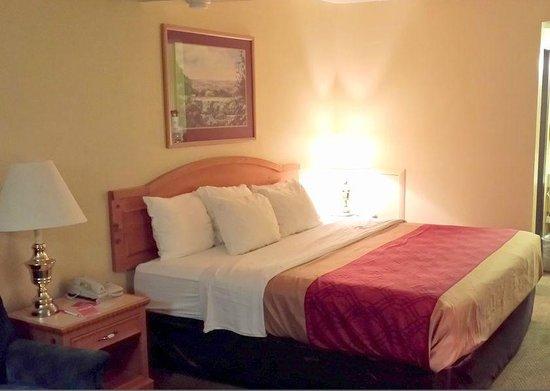 Econo Lodge: Comfortable bed