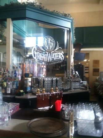 Great Waters Brewing Company: Great Waters brewing setup
