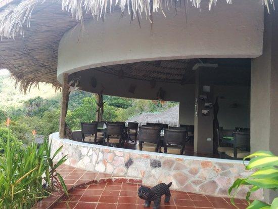 Campamento Canaima : restaurante