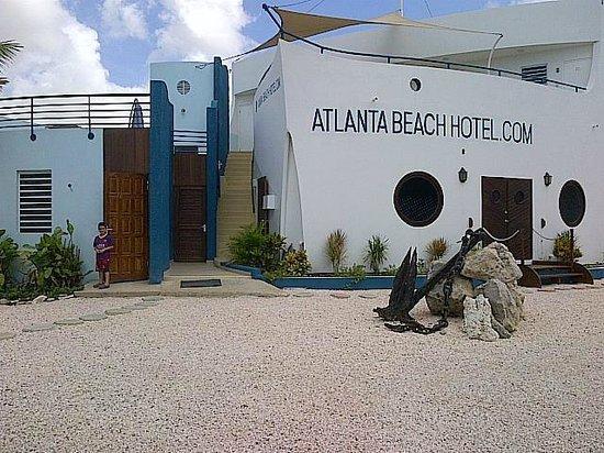 Atlanta Beach Hotel: hotel frente