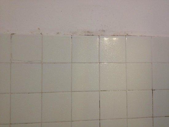 Hostal Paco: bagno sporco