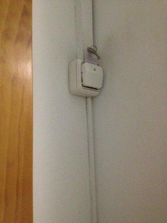 Hostal Paco: modernissimo sistema di accensione luce