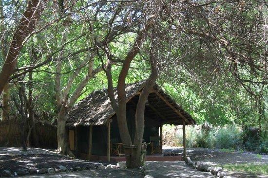 Natron River Camp: una delle tende