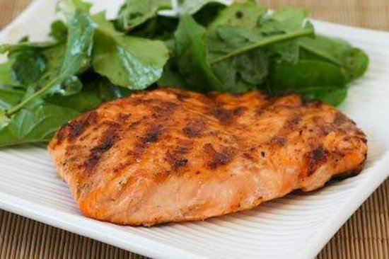 Ritz Restaurant: Grilled Salmon