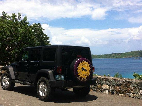 Enjoy Our Jeep Wrangler Sport To Explore Our Island