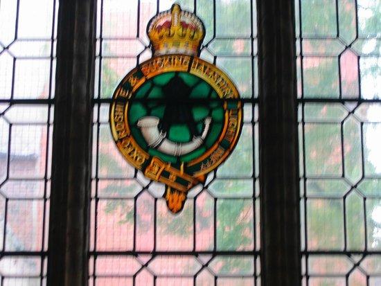Saint George's Memorial Church : Buckingham Regiment Window