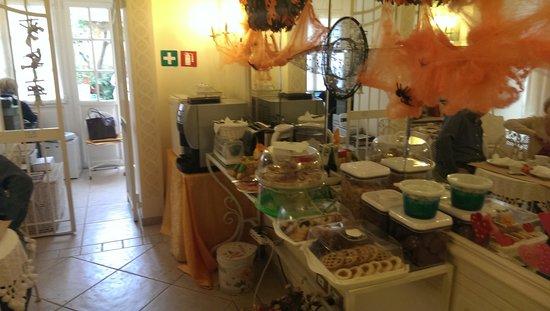 Giardino Segreto: The breakfast buffet
