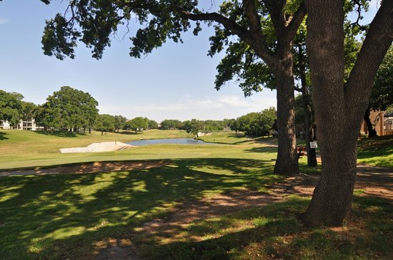 Euless, TX : View of the the golf course