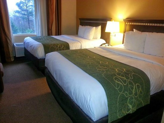 Comfort Suites - Forsyth : Double Queen room