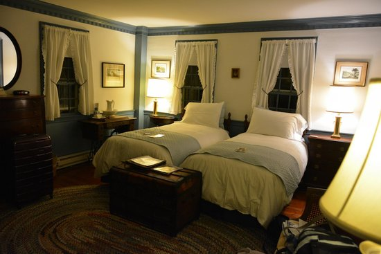 Squire Tarbox : camera da letto