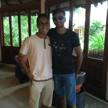 Veligandu Island Resort & Spa: Munjid, the warm and welcoming staff that made our stay even more memorable
