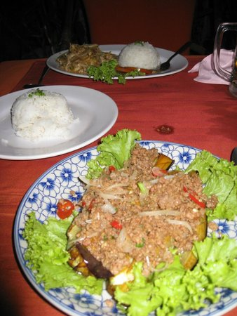 Our dinner picture of khmer family restaurant siem reap for A taste of cambodian cuisine