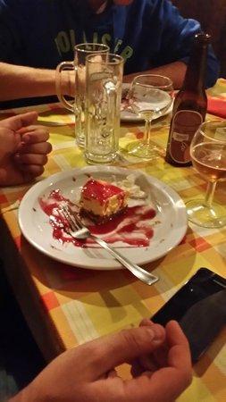 Bisonte Nero: ottima cheese cake