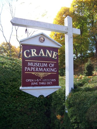 Crane Museum of Papermaking : Entrance
