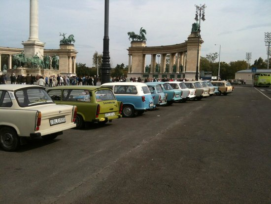 Rent a Trabant Budapest
