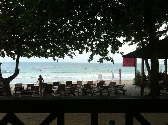 Chaweng Beachcomber: spiaggia privata ben servita