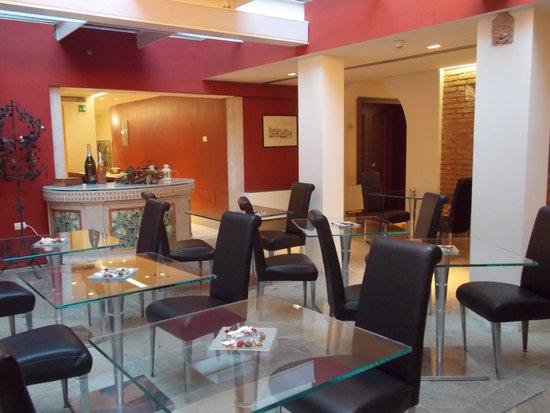 Ca' Nigra Lagoon Resort : Breakfast area