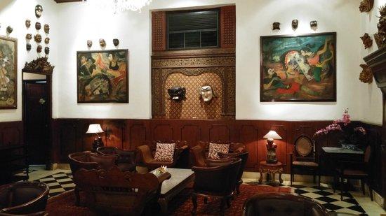 Oasis Restaurant : Sala de Estar