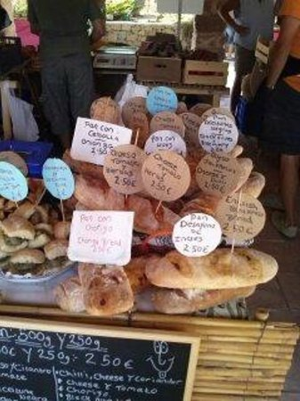 Jesus Pobre, Spain: Kellys Kitchen homemade bread