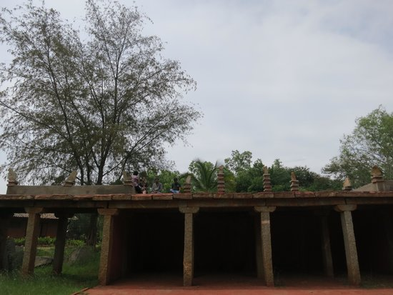 Nrityagram Tour: amphitheater