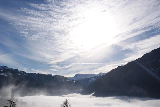Gasthaus Alpina: Aussicht von der Terrasse
