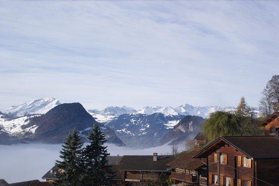Gasthaus Alpina: Aussicht